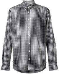 Sun 68 - Checked Button-down Shirt - Lyst