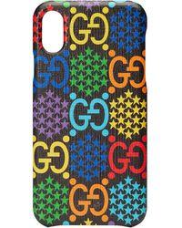 Gucci GGサイケデリック Iphone X/xs ケース - ブラック