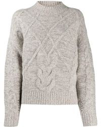 IRO Cable-knit Jumper - Grey