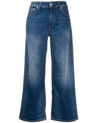 Dondup 'Avenue' Cropped-Jeans - Blau