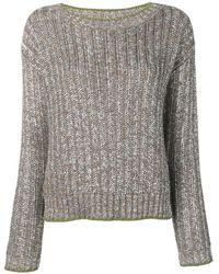 Eleventy メタリック セーター