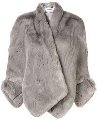 Chalayan Cut-out Detail Jacket - Grijs
