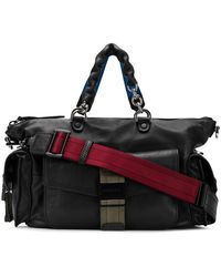 DIESEL - Leather Bowling Handbag - Lyst