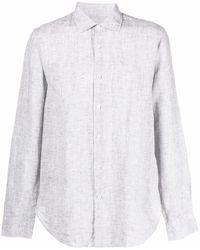 Orlebar Brown Camisa con botones - Gris