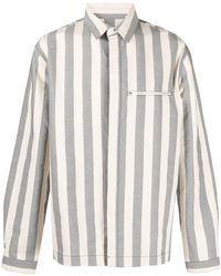 Sunnei Camicia a righe - Blu