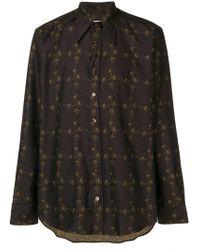 Etro - Daisy Chain Print Shirt - Lyst