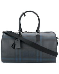 Burberry House Check Holdall - Blue