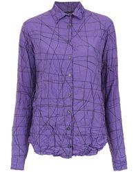 UMA | Raquel Davidowicz Estrela Shirt - Purple