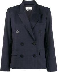 Étoile Isabel Marant Double breasted jacket - Blu