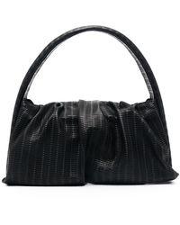 THEMOIRÈ Bolso shopper drapeado - Negro