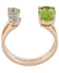 Delfina Delettrez Dots Ring - Metallic
