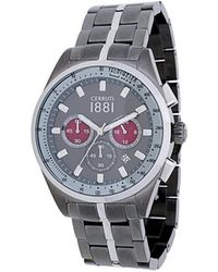 Cerruti 1881 - Three Dial Watch - Lyst
