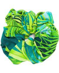 Versace Scrunchie mit Print - Mehrfarbig