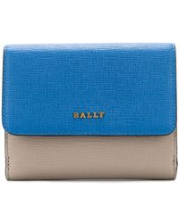 Bally - Colour Block Mini Wallet - Lyst
