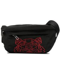 KENZO Lunar New Year Tiger Belt Bag - Black