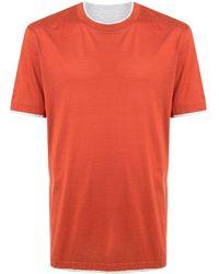 Brunello Cucinelli - レイヤード Tシャツ - Lyst