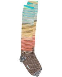Missoni ストライプ靴下 - マルチカラー