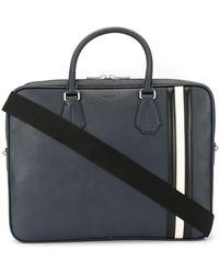 Bally Staz Laptop Bag - Blue