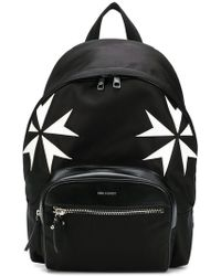 Neil Barrett - Military Star Print Backpack - Lyst