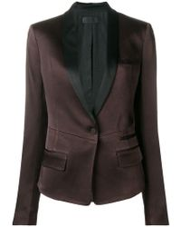 Haider Ackermann - Kuiper Single Breasted Satin Blazer - Lyst