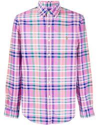 Polo Ralph Lauren Geruit Overhemd - Roze