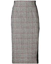 FEDERICA TOSI - Classic Midi Skirt - Lyst