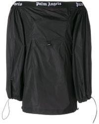 Palm Angels - Off-shoulder Mini Dress - Lyst