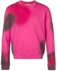 Off-White c/o Virgil Abloh Arrows Print Sweatshirt - Pink