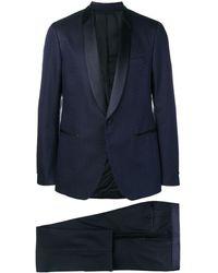 Ferragamo ツーピース スーツ - ブルー