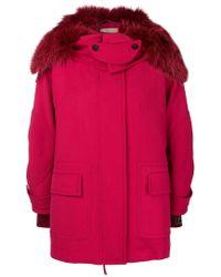 Fendi - Hooded Parka Jacket - Lyst