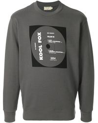 Maison Kitsuné Cd Cover スウェットシャツ - グレー