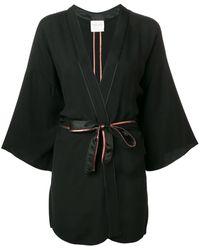 Forte Forte Belted Jacket - Black