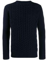 Woolrich ニットセーター - ブルー