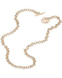Mattioli 18kt Rose Gold 20cm Rolo Chain - Pink