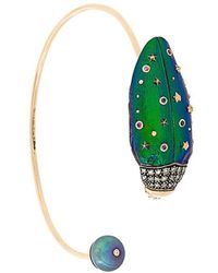 Bibi Van Der Velden - Scarab Bangle Bracelet - Lyst