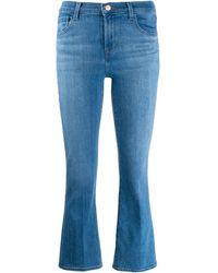J Brand Selena クロップドジーンズ - ブルー