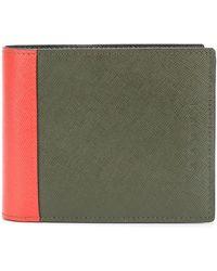 Marni Бумажник Дизайна Колор-блок - Многоцветный