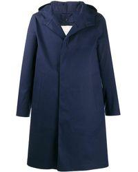 Mackintosh Cappotto con cappuccio Chryston - Blu