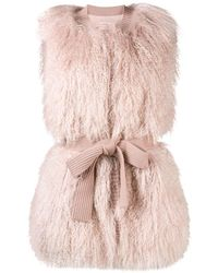 P.A.R.O.S.H. Knitted gilet - Rosa