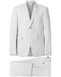 Thom Browne - Striped Two Piece Suit - Lyst