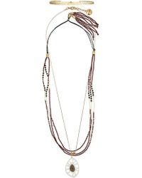 Camila Klein - Beaded Necklaces Set - Lyst
