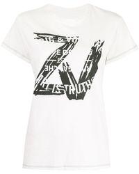 Zadig & Voltaire - Zoe Tシャツ - Lyst