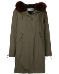 Army by Yves Salomon - Zip-up Parka - Lyst