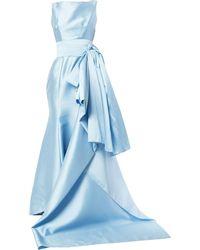 Bambah Sylvia Sabrina ドレス - ブルー