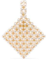 Vanina Reveries Beaded Clutch Bag - Multicolor