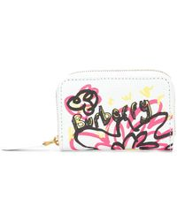 Burberry - Logo Printed Purse - Lyst
