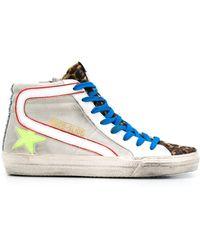 Golden Goose Deluxe Brand - 'Slide' Sneakers - Lyst
