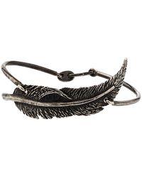 M. Cohen Bracelet à design perlé - Métallisé