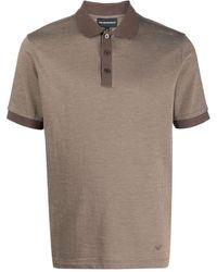 Emporio Armani - コントラストカラー ポロシャツ - Lyst