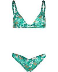 L'Autre Chose Bikini a triangolo - Verde
